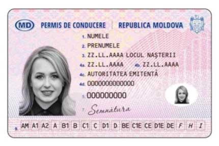 traduzione patente moldava