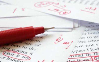 Revisione di traduzione e correzione di bozze
