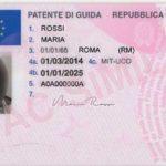 traduzione patente di guida